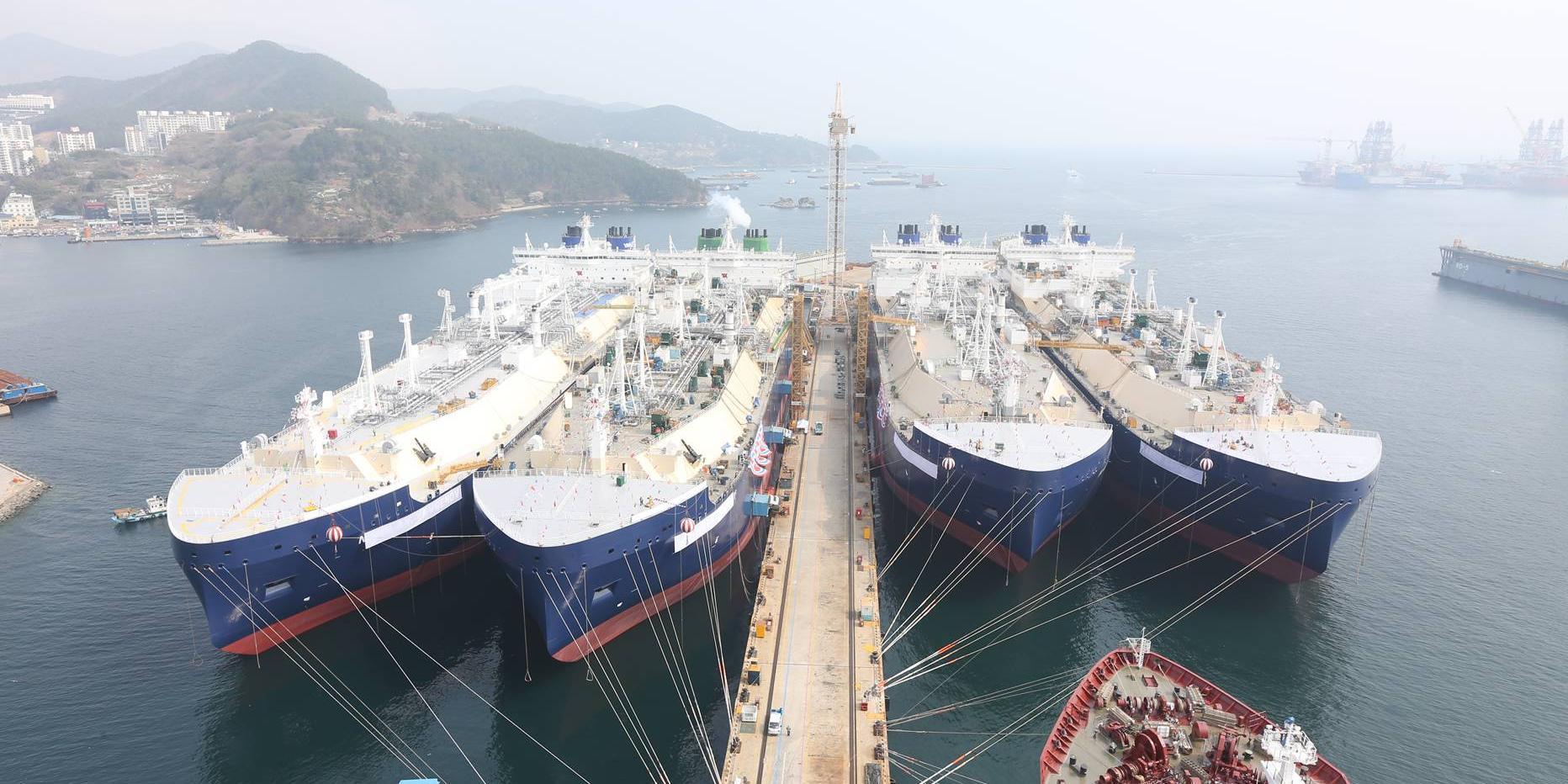 LNG운반선 대규모 발주가 몰려온다, 조선3사 수주갈증 해소 기대