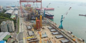 현대중공업, 카타르 가스사와 9조 소송을 2600억 선에서 마무리