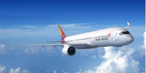 아시아나항공 여객기, 미국 공항에서 작업차량과 부딪혀 날개 손상