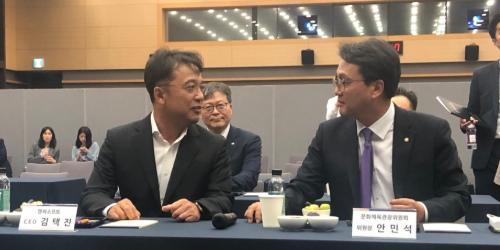 [오늘Who] 엔씨소프트에 국회의원 맞은 김택진, 게임업계를 대표하다