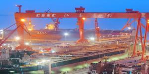 중국 1위와 2위 조선그룹 합병법인 공식출범, 자산기준 세계 최대규모