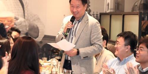 최태원, SK그룹 구성원과 올해 '행복토크' 100회 연다는 약속 지켜