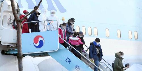 중국 우한시 교민 데려올 3번째 전세기 인천국제공항 출발