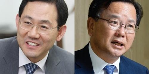 대구 수성갑에서 통합당 주호영 37.3%, 김부겸 32.1% 접전