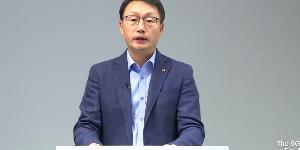 """KT 대표 구현모 """"5G통신 기회의 땅은 기업시장에 있다"""""""