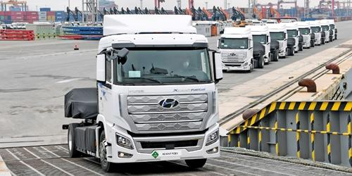 현대차, 유럽 이어 미국과 중국에도 수소상용차 진출 서둘러
