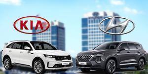 현대차 싼타페와 기아차 쏘렌토, 중형SUV 판매 1위 경쟁 갈수록 치열